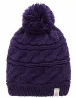 The North Face Женская шапка The North Face Triple Cable Pom Beanie