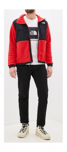 The North Face Футболка с принтом The North Face Raglan Red Box