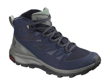 Salomon Shoes Outline Mid Gtx