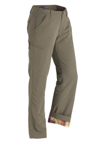 Marmot Wm's Piper Flannel Lined Pant