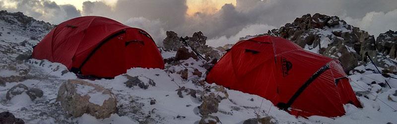 Экстремальная палатка для тяжелых условий