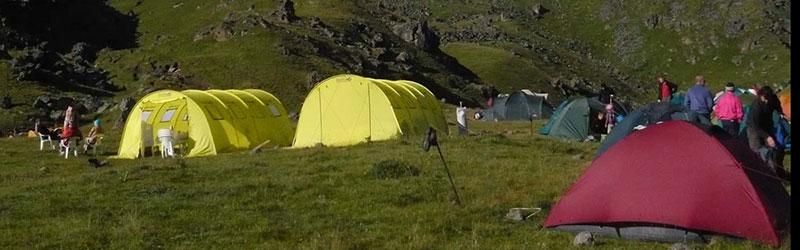 Экспедиционная палатка для базового лагеря